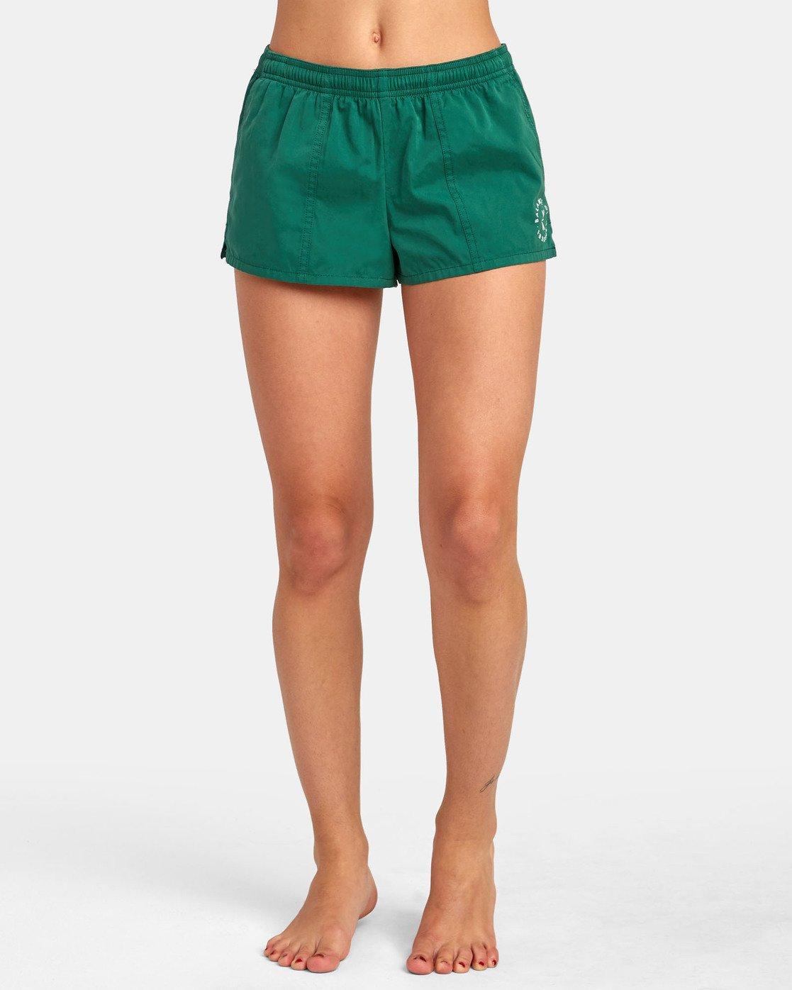 0 Synced Up - Bade-Shorts für Damen Grün S3BSRARVP0 RVCA