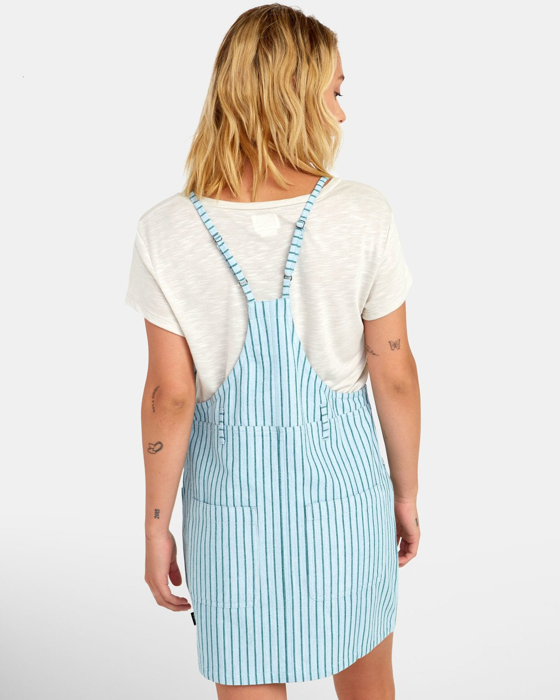 2 River - Striped Overall Style Dress for Women  S3DRRCRVP0 RVCA