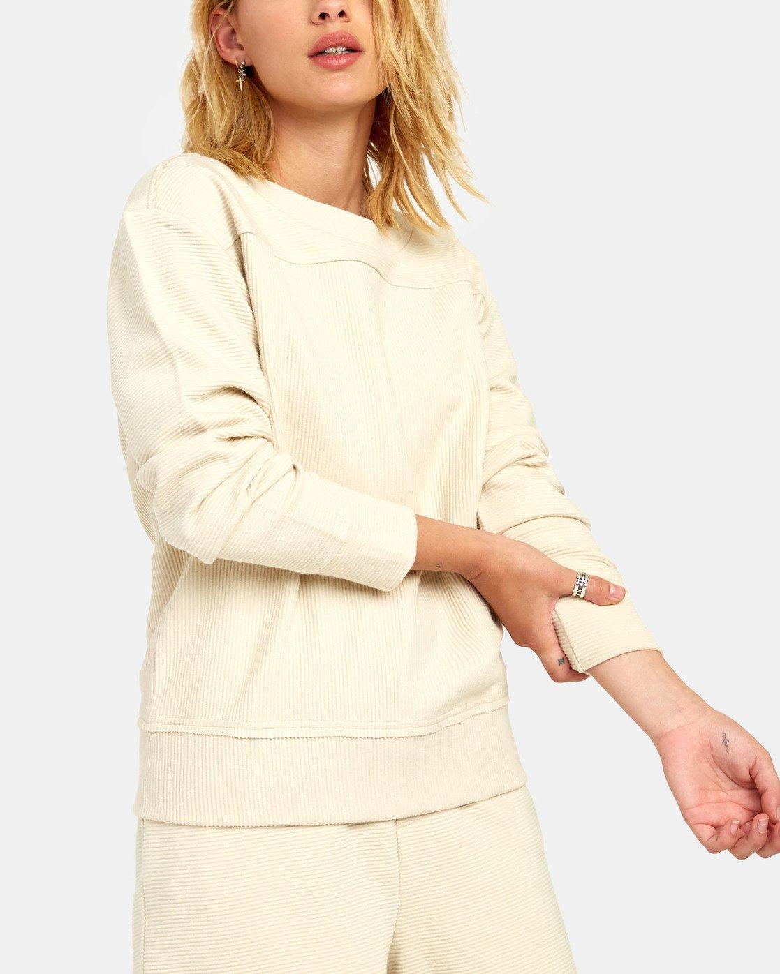 7 Maddy Top - Sweatshirt for Women Beige S3FLRDRVP0 RVCA