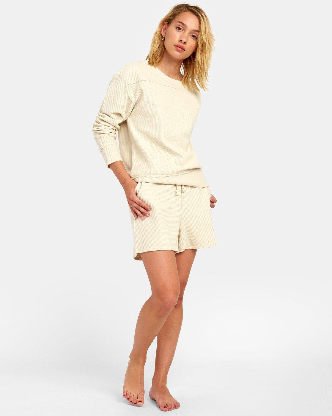 0 Maddy Top - Sweatshirt for Women Beige S3FLRDRVP0 RVCA
