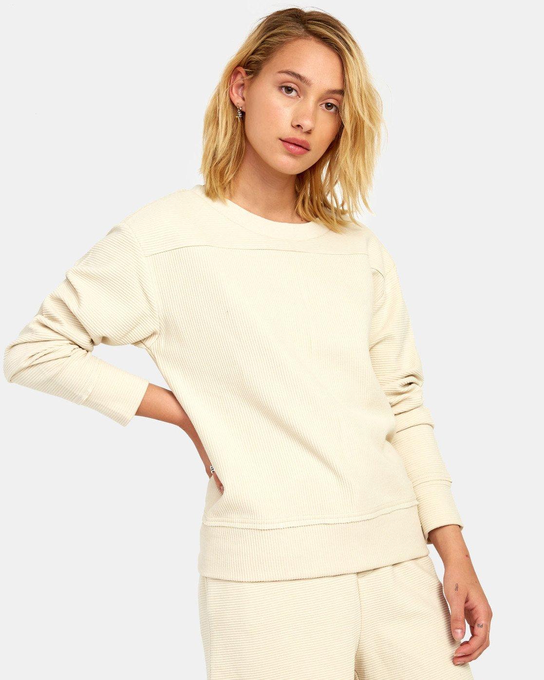 1 Maddy Top - Sweatshirt for Women Beige S3FLRDRVP0 RVCA