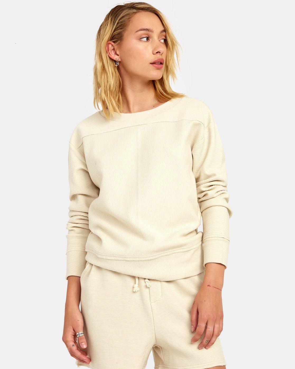 2 Maddy Top - Sweatshirt for Women Beige S3FLRDRVP0 RVCA