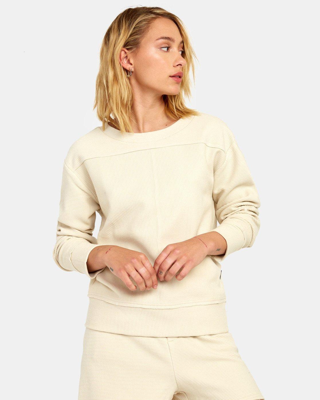 5 Maddy Top - Sweatshirt for Women Beige S3FLRDRVP0 RVCA