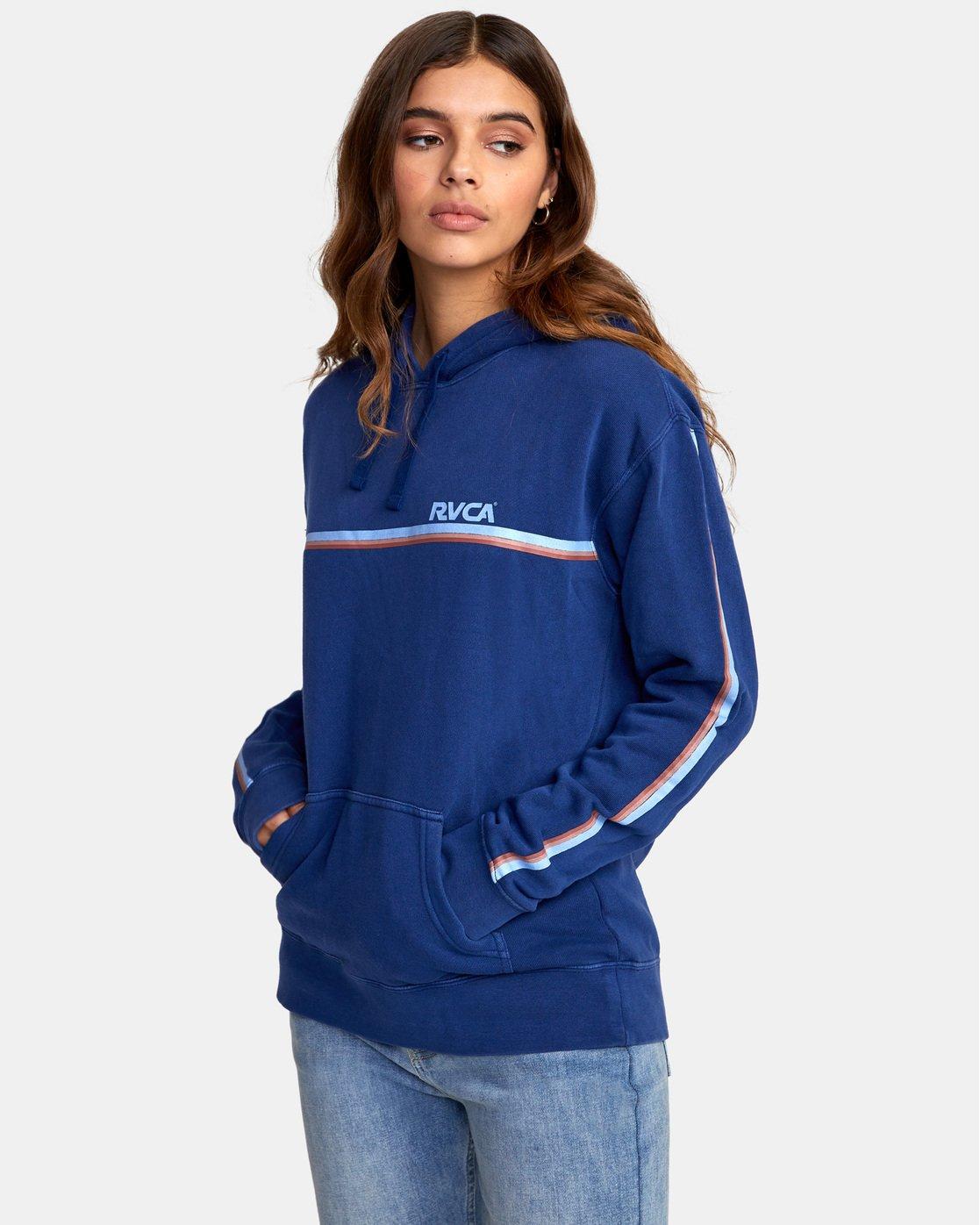 2 Cannonball - Sweatshirt pour Femme Bleu S3HORARVP0 RVCA