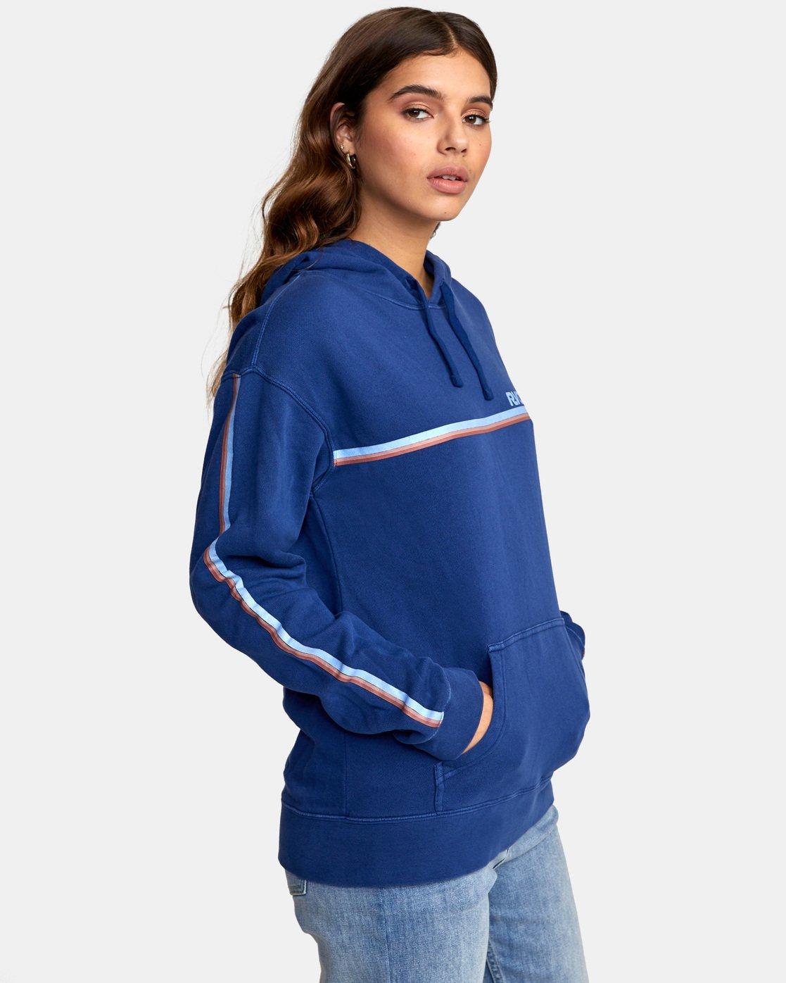 4 Cannonball - Sweatshirt pour Femme Bleu S3HORARVP0 RVCA