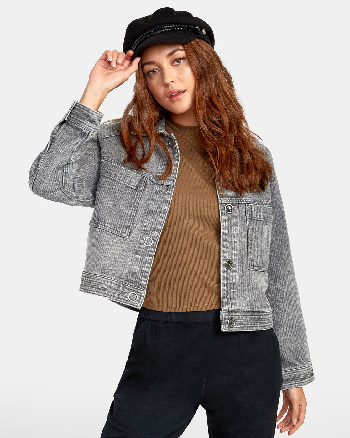 0 Kelton  - Denim Jacket for Women  S3JKRARVP0 RVCA