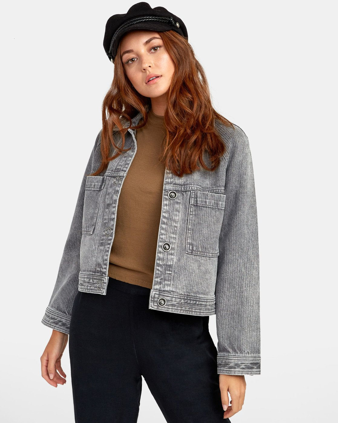 1 Kelton  - Denim Jacket for Women  S3JKRARVP0 RVCA
