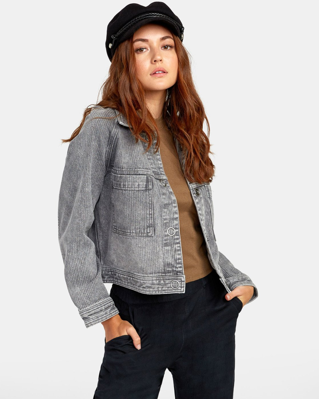2 Kelton  - Denim Jacket for Women  S3JKRARVP0 RVCA