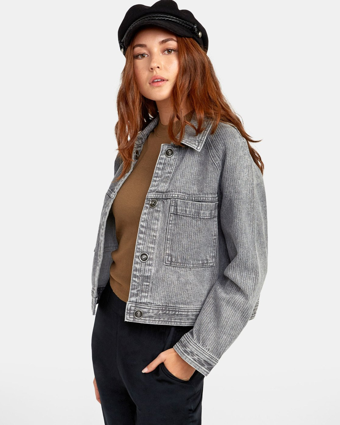 3 Kelton  - Denim Jacket for Women  S3JKRARVP0 RVCA