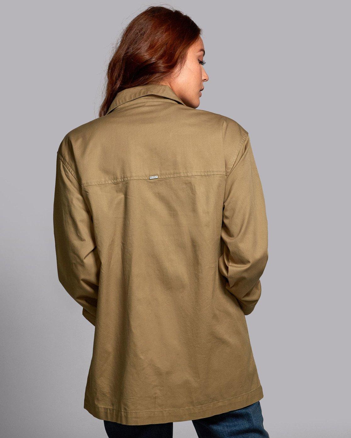 3 Mountain  - Oversized Jacket for Women  S3JKRBRVP0 RVCA