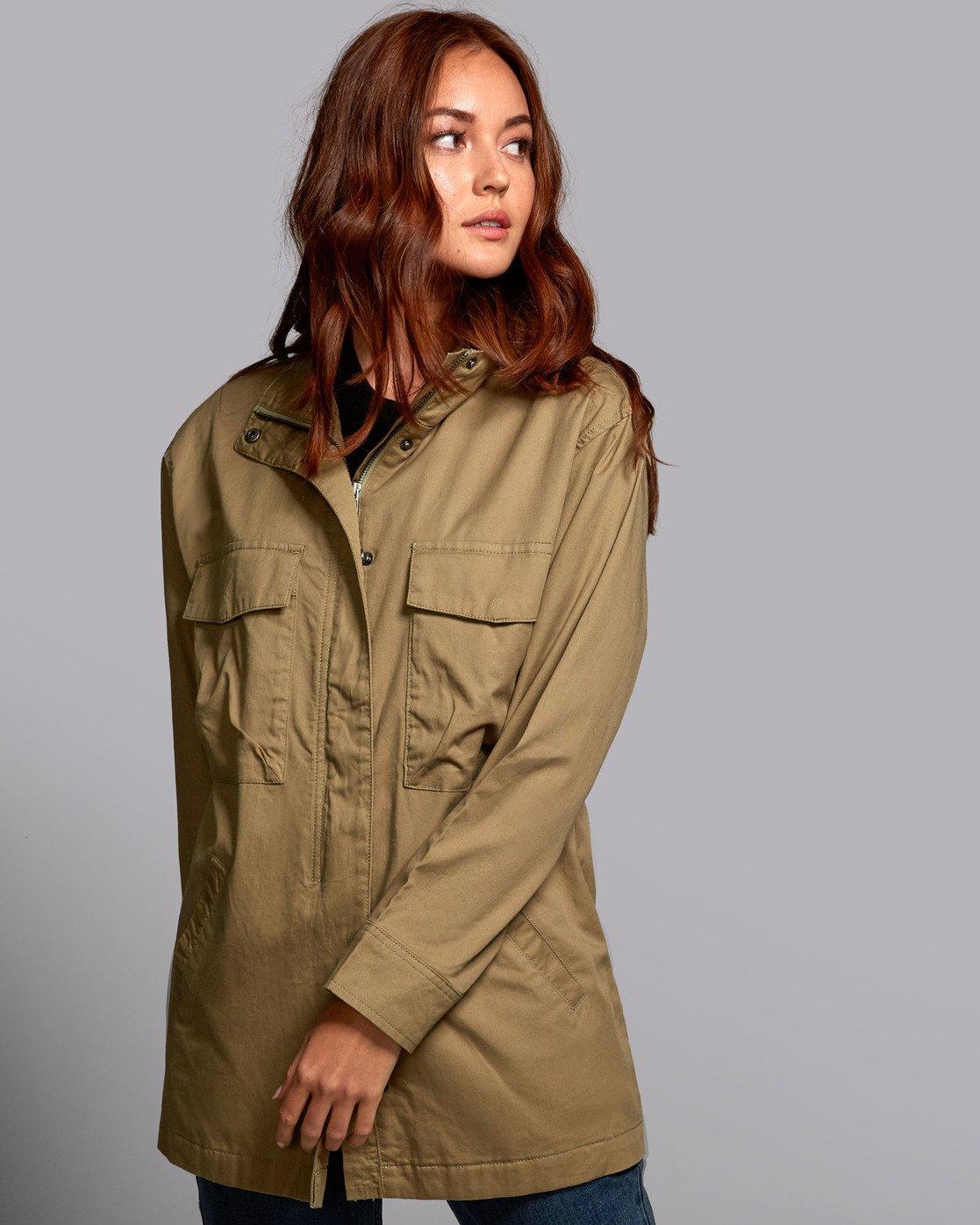 4 Mountain  - Oversized Jacket for Women  S3JKRBRVP0 RVCA