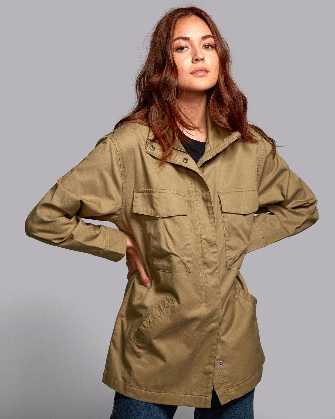5 Mountain  - Oversized Jacket for Women  S3JKRBRVP0 RVCA