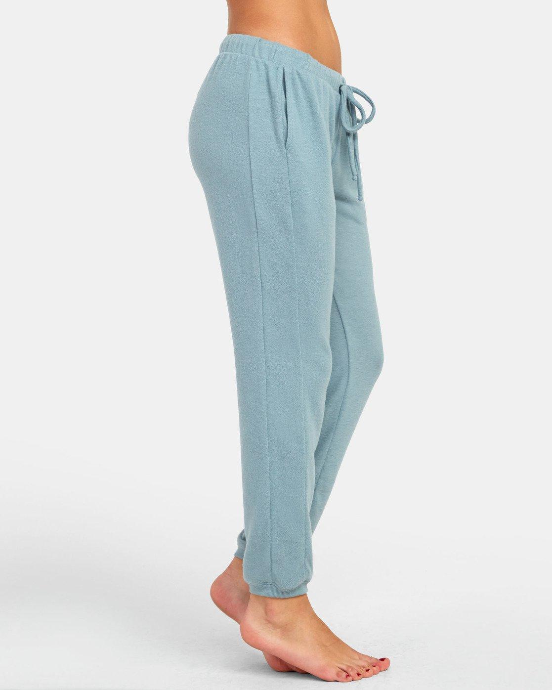 1 Kickback - Pantaloni Lounge da Donna Gray S3PTRBRVP0 RVCA