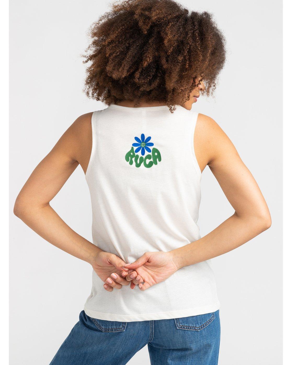 0 Happy Days - T-Shirt pour Femme Blanc S3SGRBRVP0 RVCA
