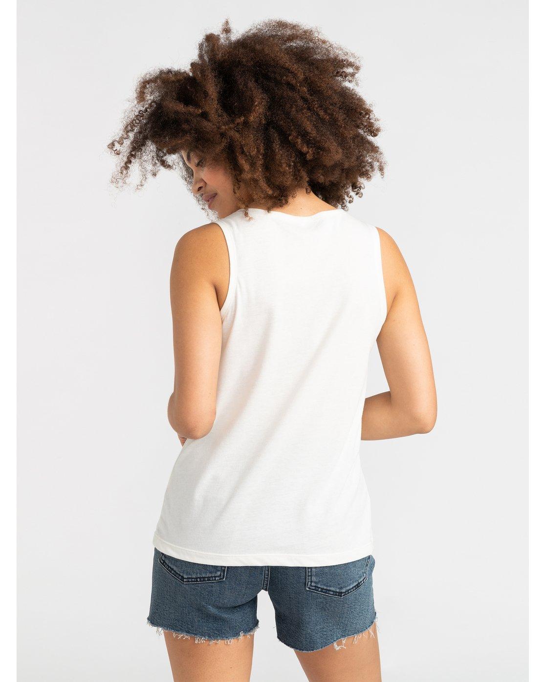 2 Benjamin Jeanjean Alohatiger - T-Shirt pour Femme Blanc S3SGRCRVP0 RVCA