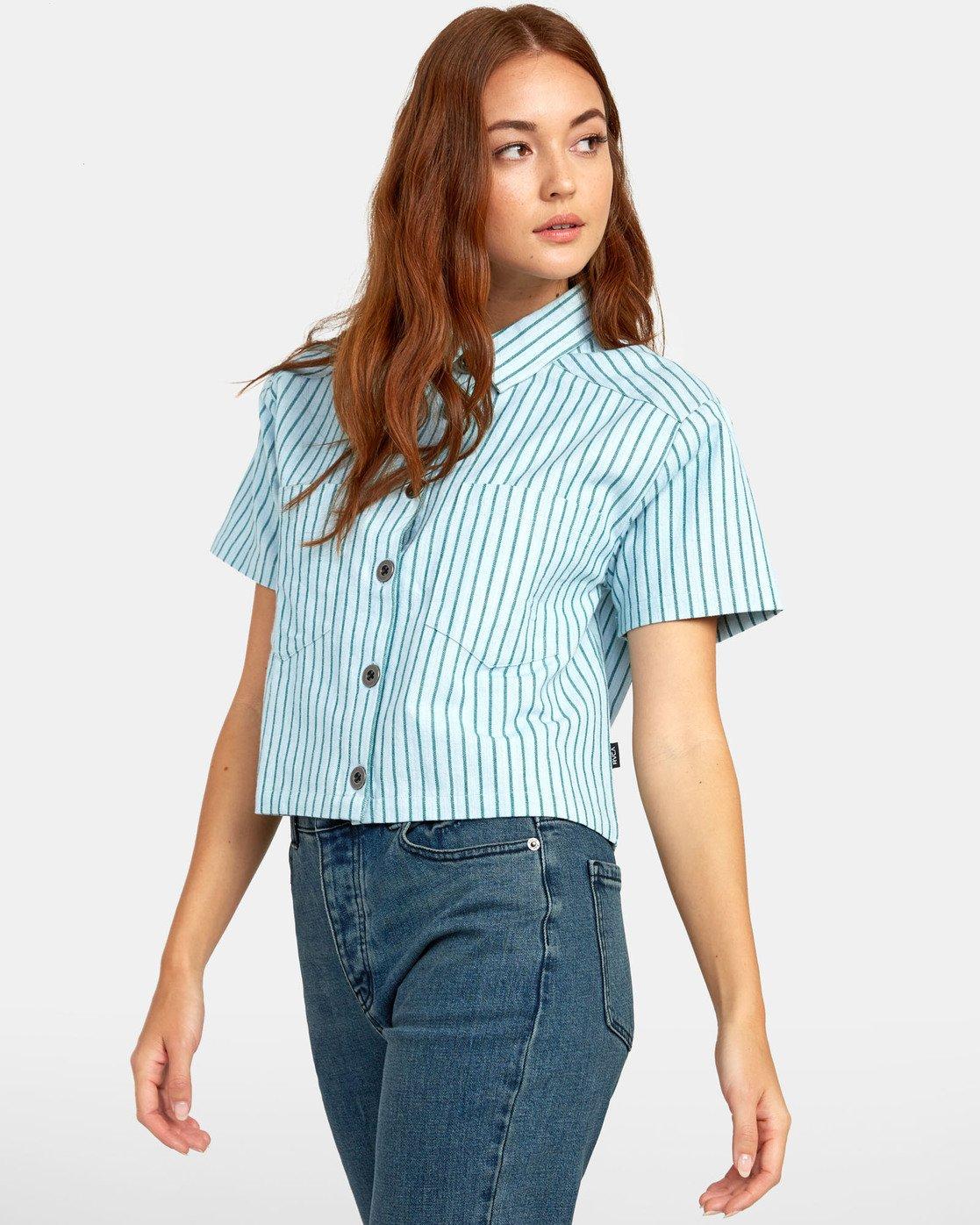 4 Jefferson - Striped Shirt for Striped Shirt  S3SHRDRVP0 RVCA