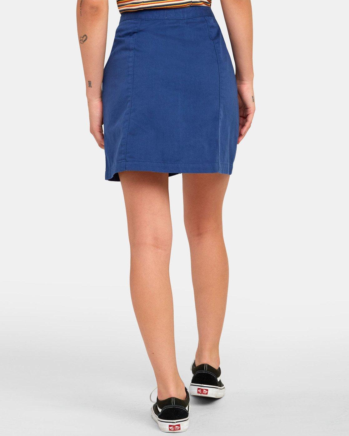 1 Oconnor - Jupe pour Femme Bleu S3SKRBRVP0 RVCA
