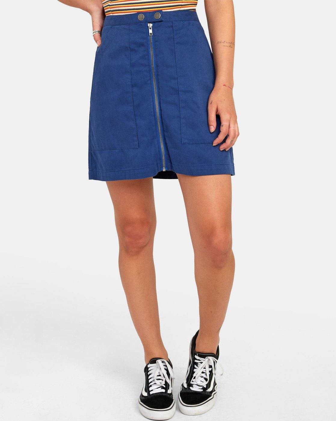 0 Oconnor - Jupe pour Femme Bleu S3SKRBRVP0 RVCA