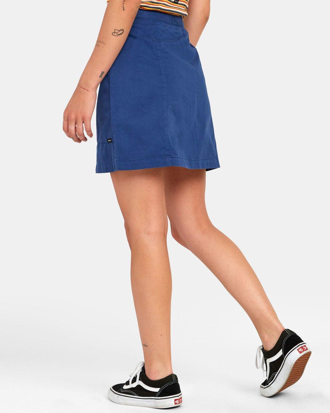 5 Oconnor - Jupe pour Femme Bleu S3SKRBRVP0 RVCA