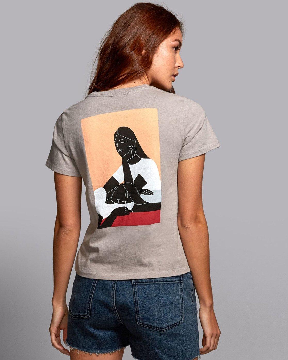 0 Johanna Olk Olk - Graphic T-Shirt for Graphic T-Shirt  S3SSRARVP0 RVCA