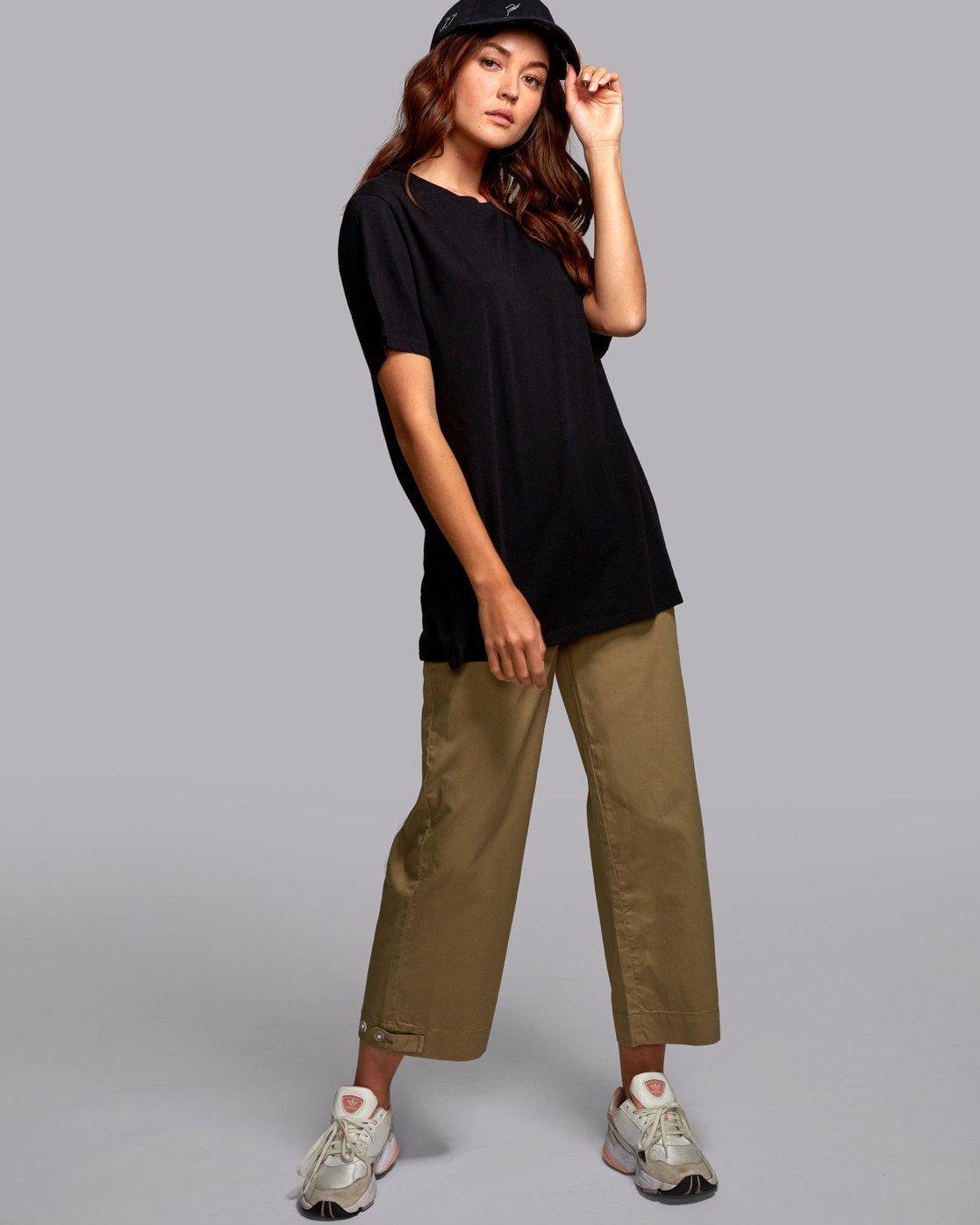 1 Johanna Olk Faces - Graphic T-Shirt for Graphic T-Shirt Black S3SSRCRVP0 RVCA