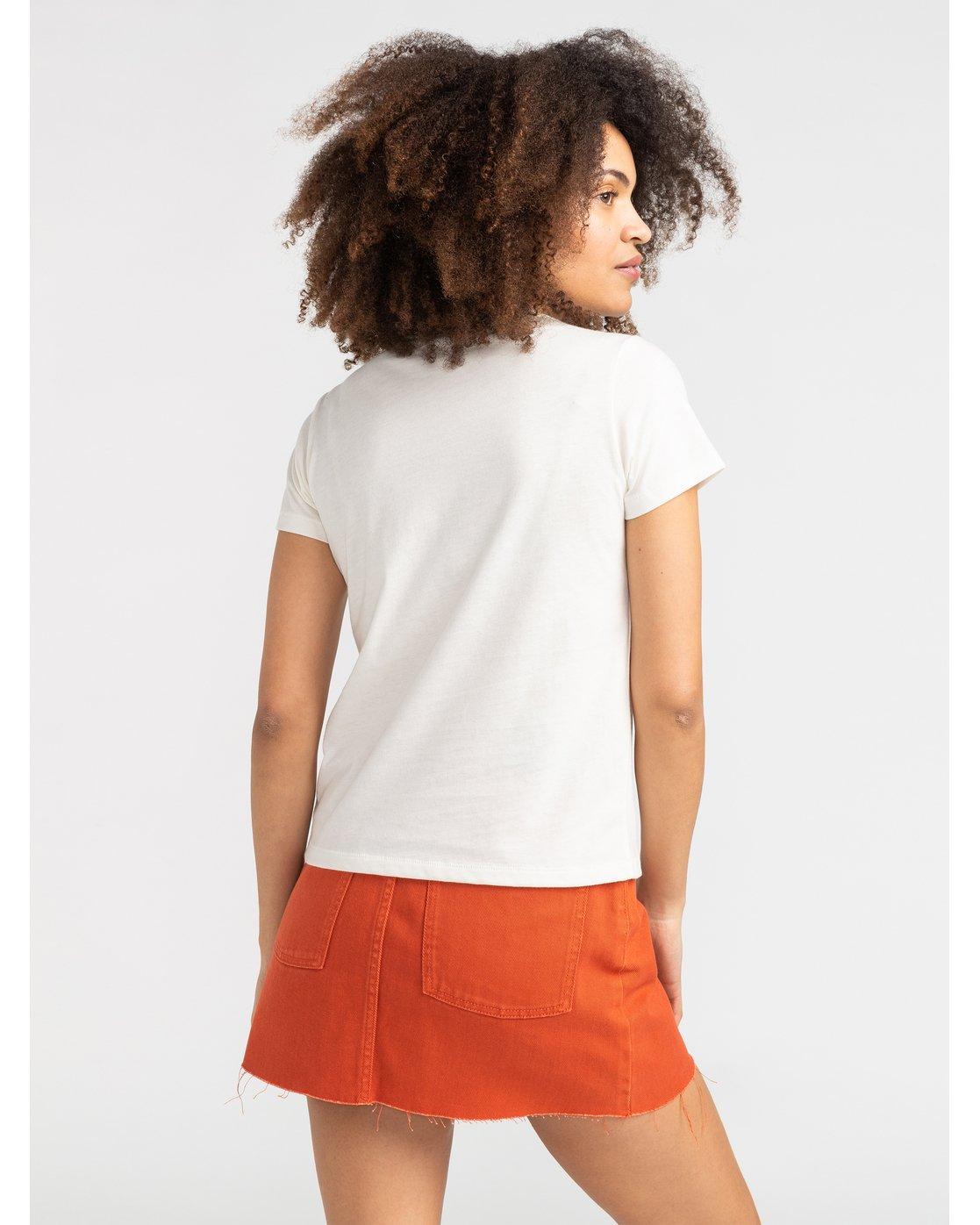 2 Benjamin Jeanjean Benjamin - T-Shirt for T-Shirt White S3SSRERVP0 RVCA