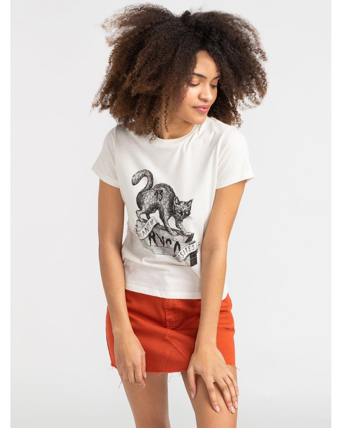 0 Benjamin Jeanjean Benjamin - T-Shirt for T-Shirt White S3SSRERVP0 RVCA