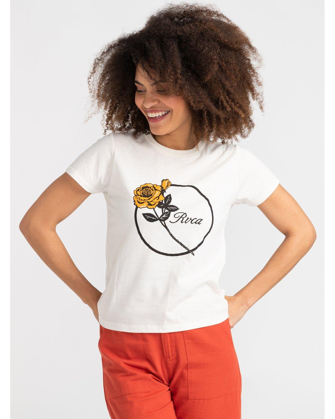 0 Thorns - T-Shirt for T-Shirt White S3SSRFRVP0 RVCA