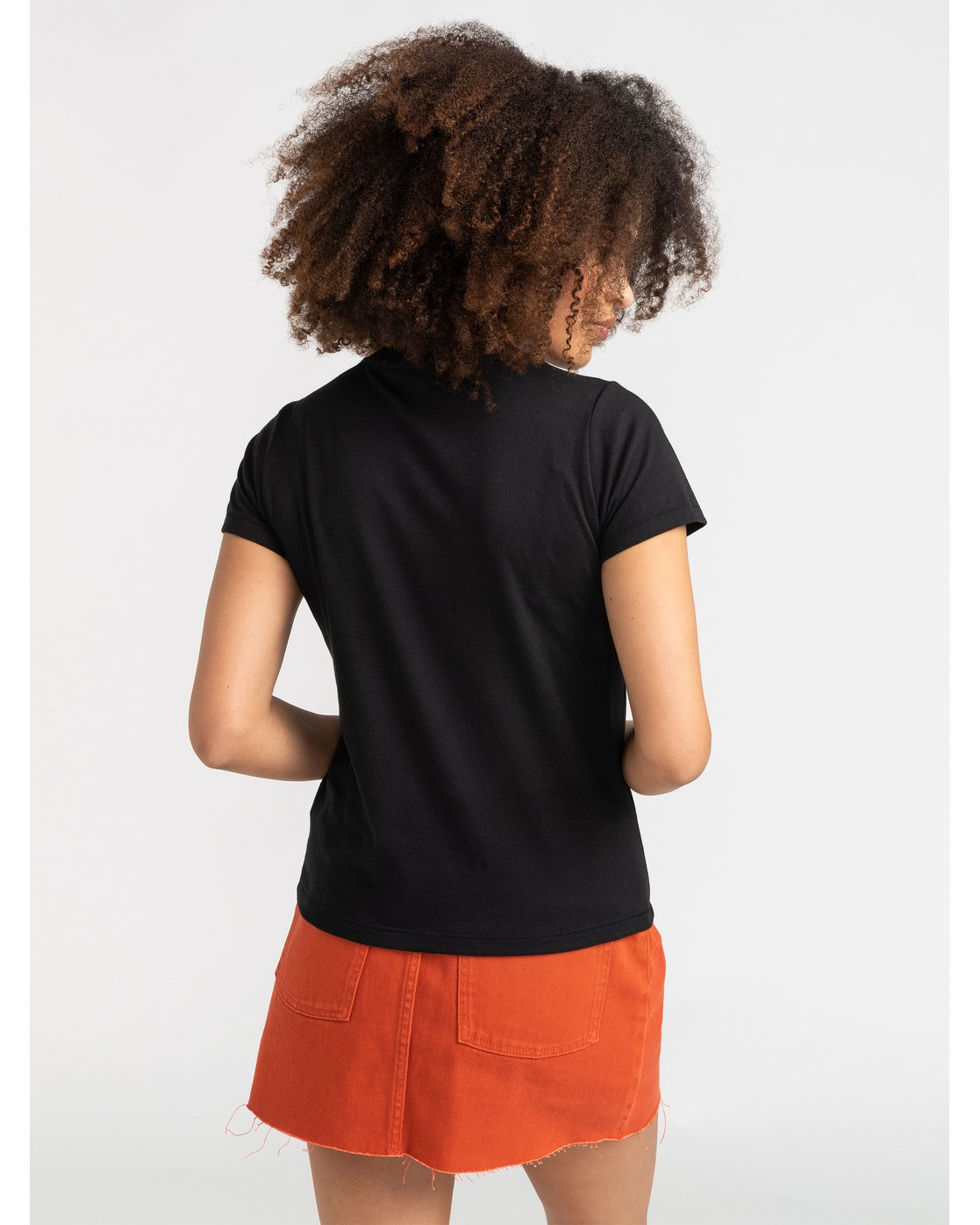 2 Parker - T-Shirt for Women Black S3SSRGRVP0 RVCA