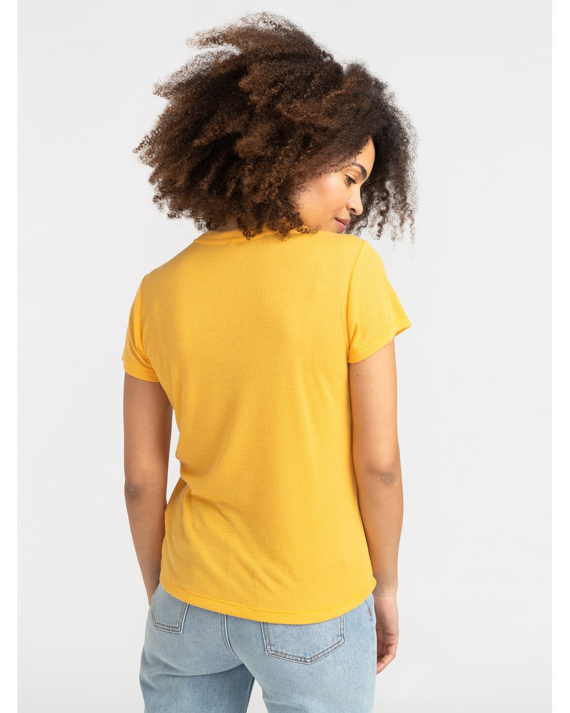 2 Happy Days - T-Shirt for Women Yellow S3SSRHRVP0 RVCA