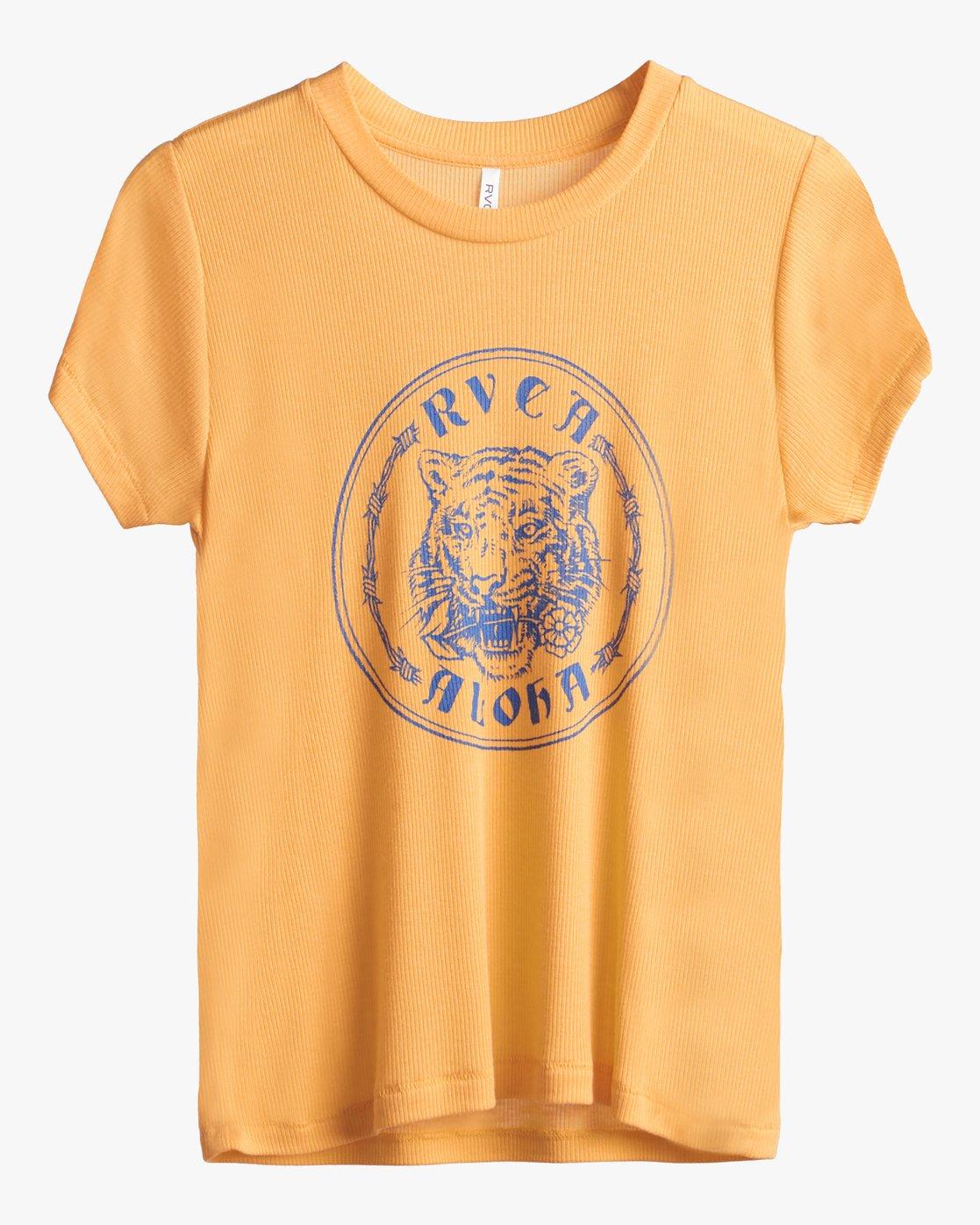3 Benjamin Jeanjean Alohatiger - T-Shirt for T-Shirt Yellow S3SSRIRVP0 RVCA