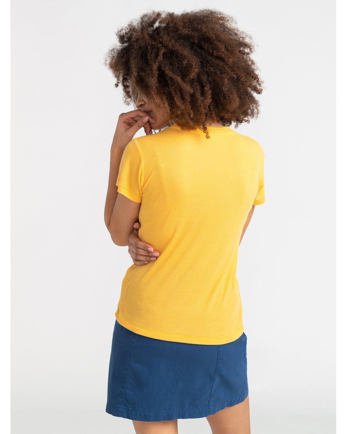 2 Benjamin Jeanjean Alohatiger - T-Shirt for T-Shirt Yellow S3SSRIRVP0 RVCA