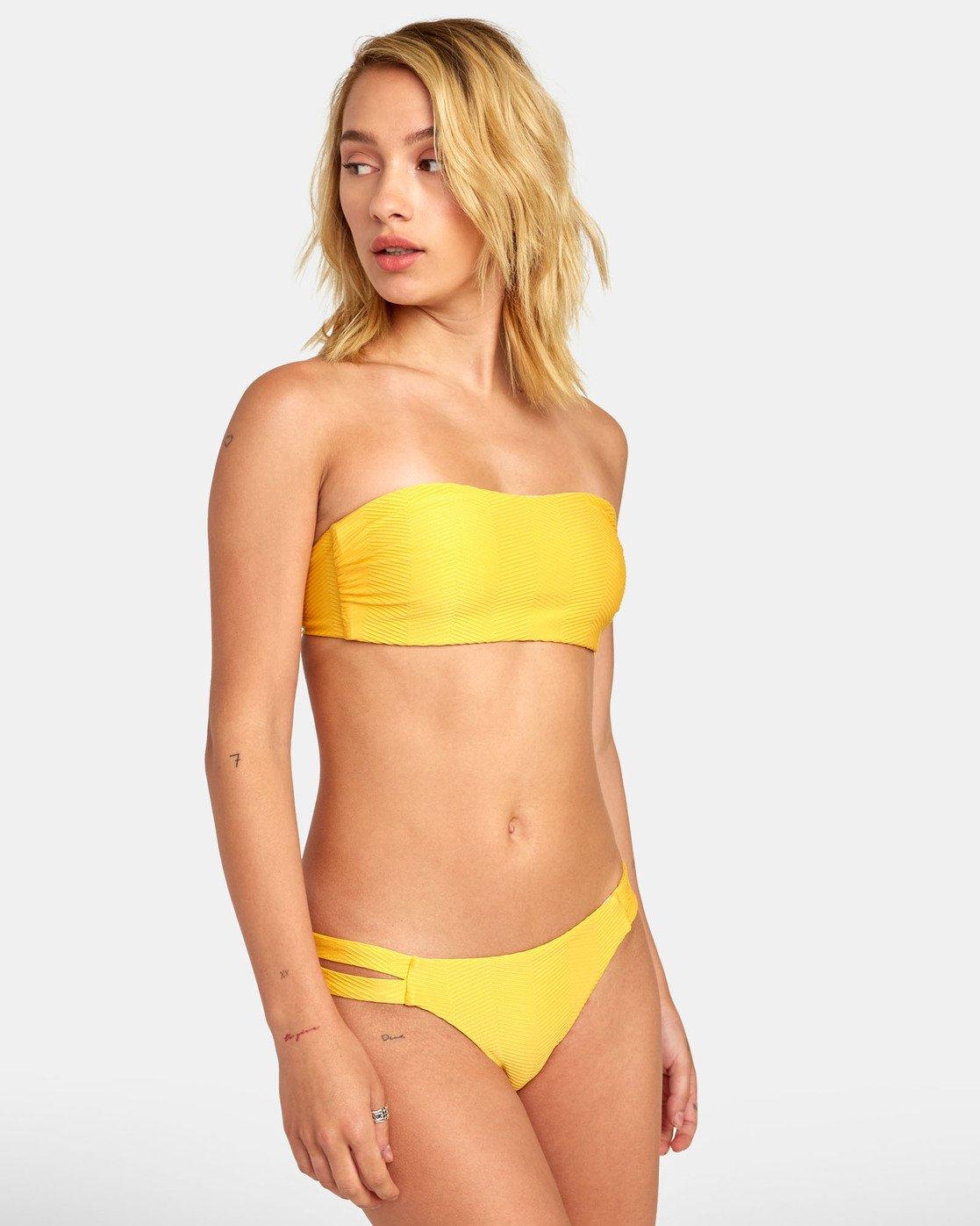 1 Bodega - Textured Bandeau Bikini Top for Women  S3STRDRVP0 RVCA