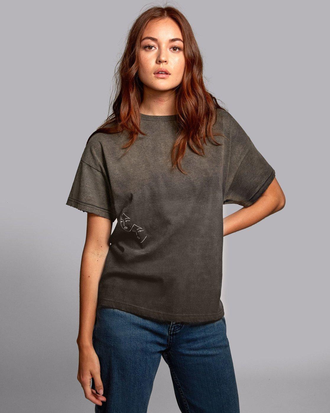 2 Johanna Olk Au Revoir - Oversized T-Shirt for Oversized T-Shirt  S3TPRERVP0 RVCA