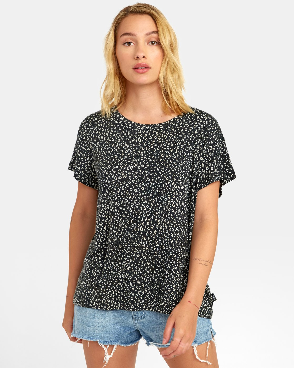 0 Suspension - All-Over Print T-Shirt for Women  S3TPRPRVP0 RVCA