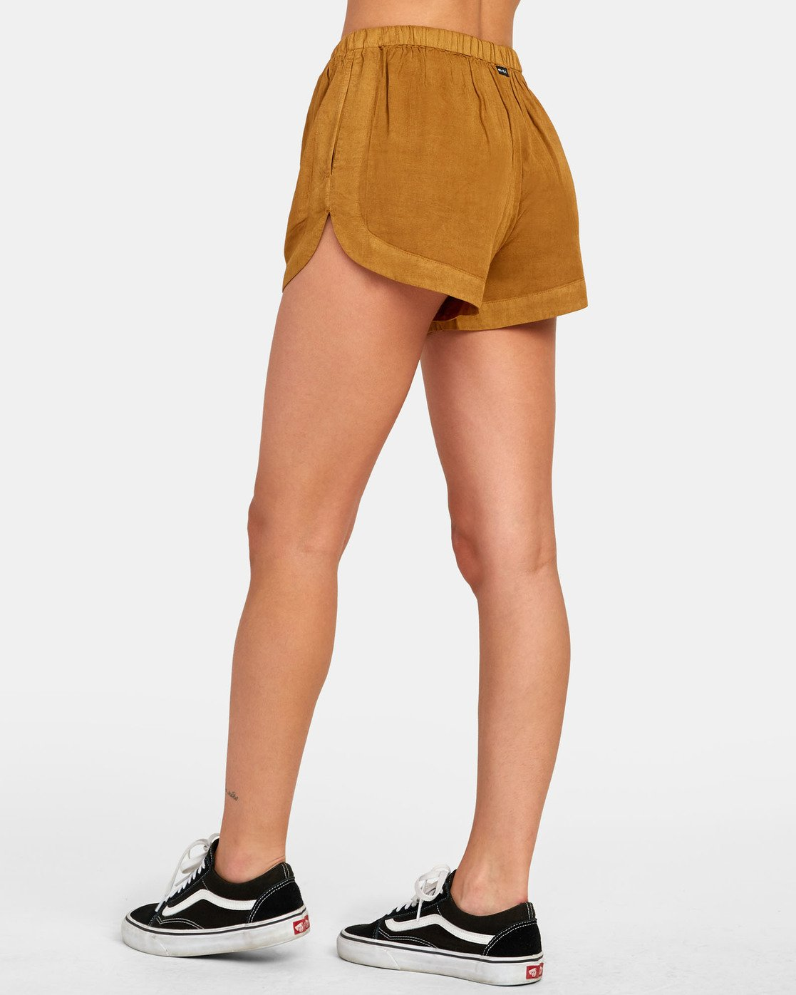 2 New Yume - Shorts mit Gummibund für Damen Braun S3WKRQRVP0 RVCA