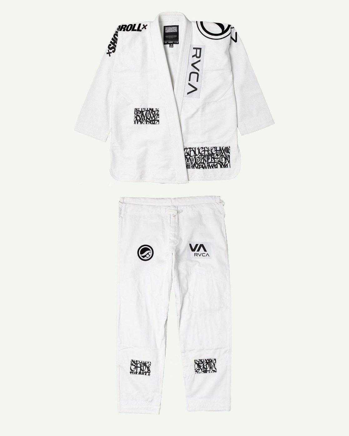 6 RVCA Shoyoroll - Jiu-Jitsu Gi for Men White S4ESRARVP0 RVCA