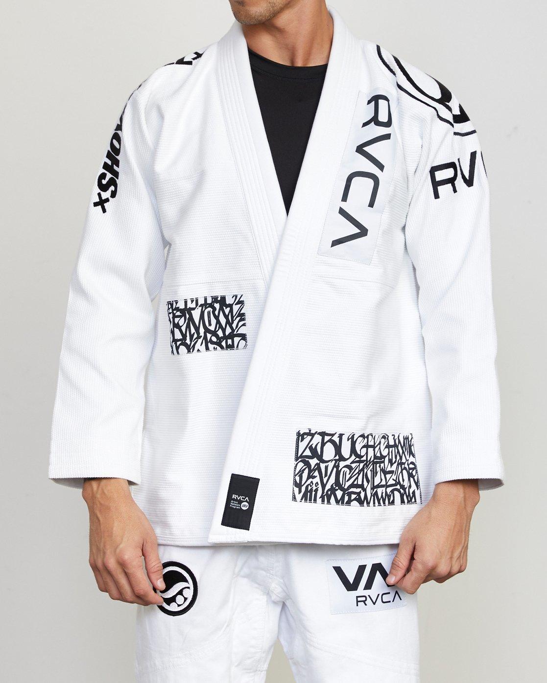 0 RVCA Shoyoroll - Jiu-Jitsu Gi for Men White S4ESRARVP0 RVCA