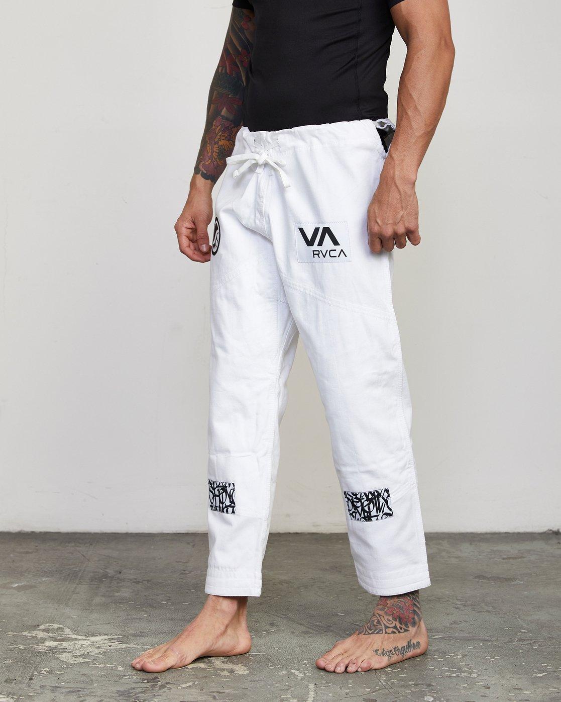 5 RVCA Shoyoroll - Jiu-Jitsu Gi for Men White S4ESRARVP0 RVCA