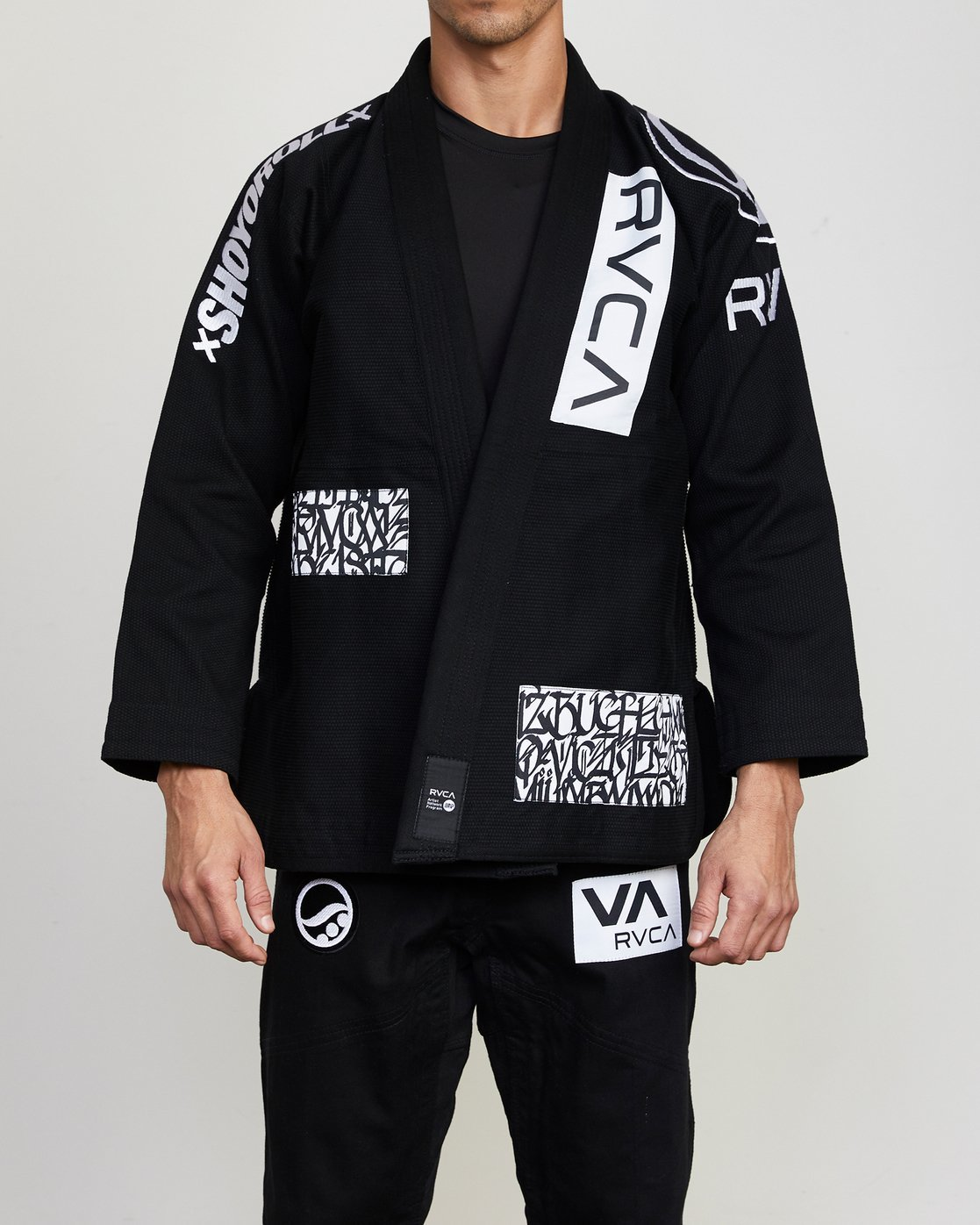 0 RVCA Shoyoroll - Jiu-Jitsu Gi for Men Black S4ESRARVP0 RVCA