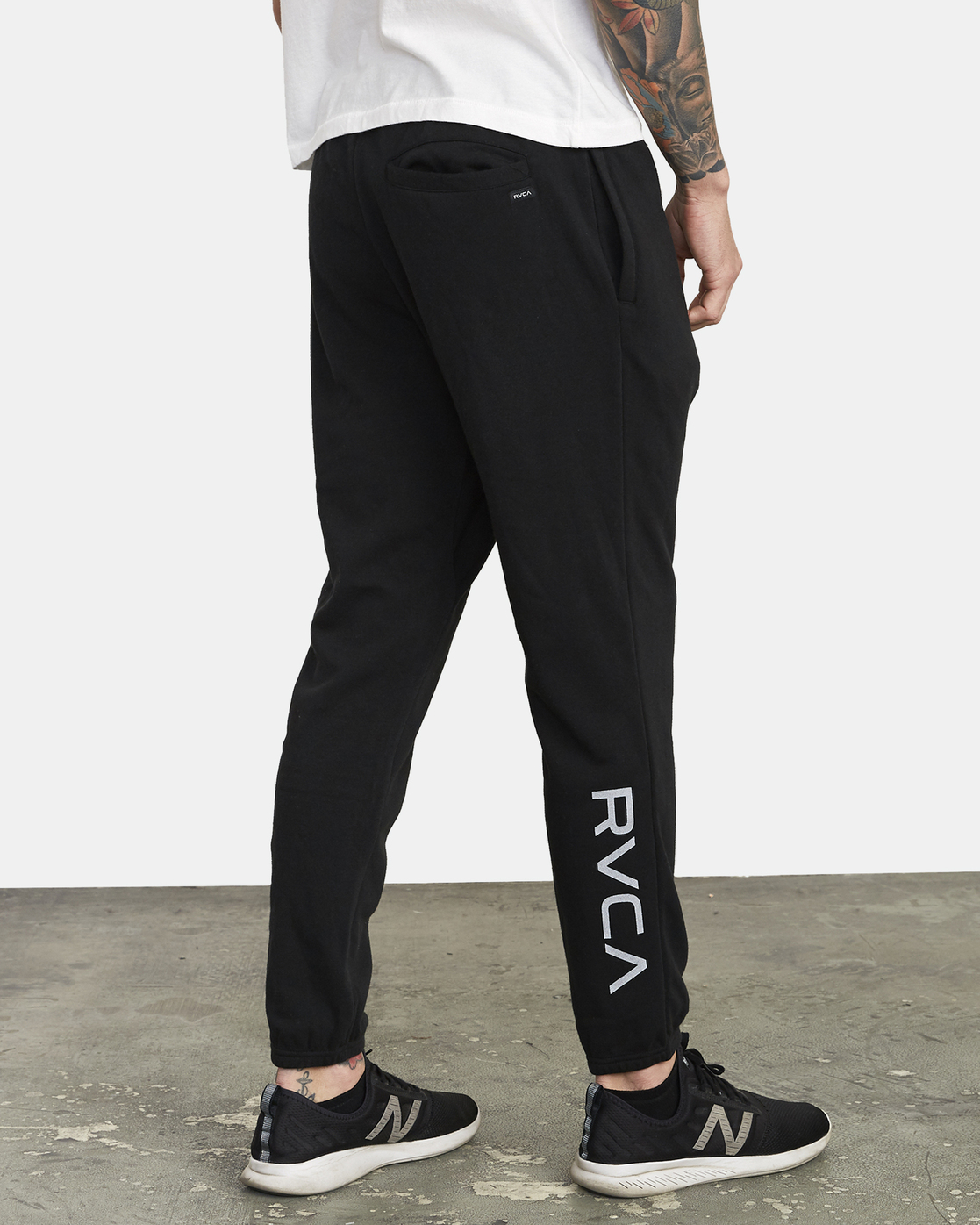5 Swift Sweat - Joggers for Men Black S4PTMCRVP0 RVCA