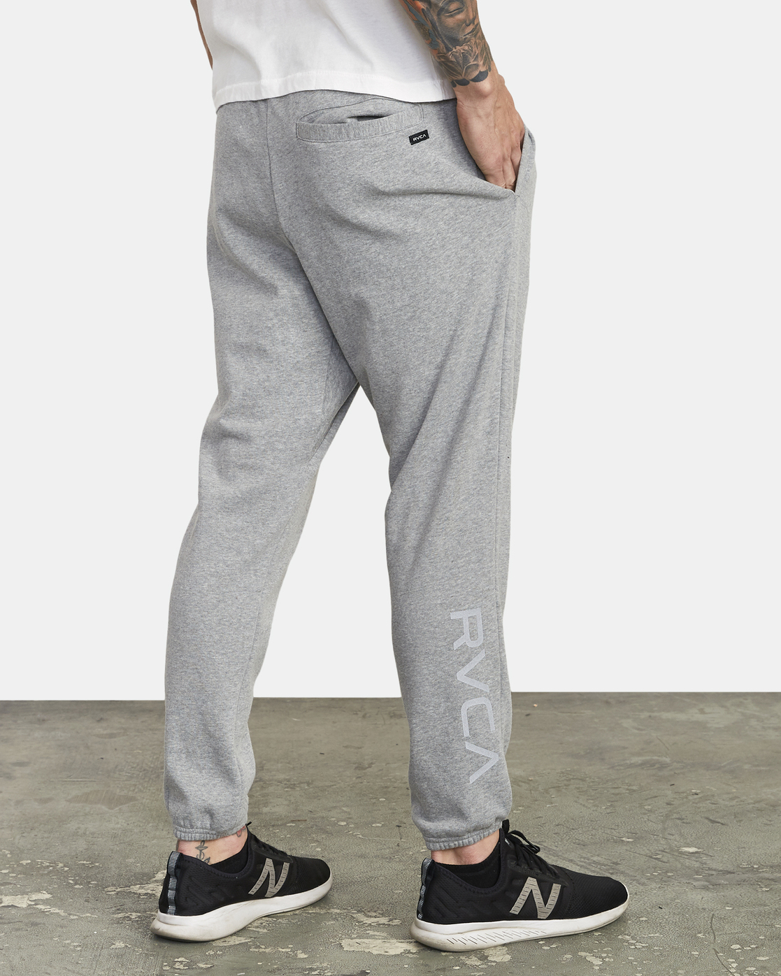 5 Swift Sweat - Pantalon de jogging pour Homme Gris S4PTMCRVP0 RVCA
