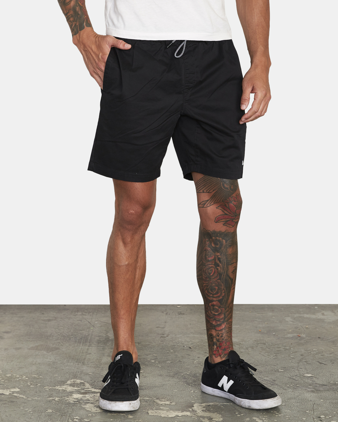 "6 Spectrum 18"" - Athletic Shorts for Men Black S4WKMERVP0 RVCA"