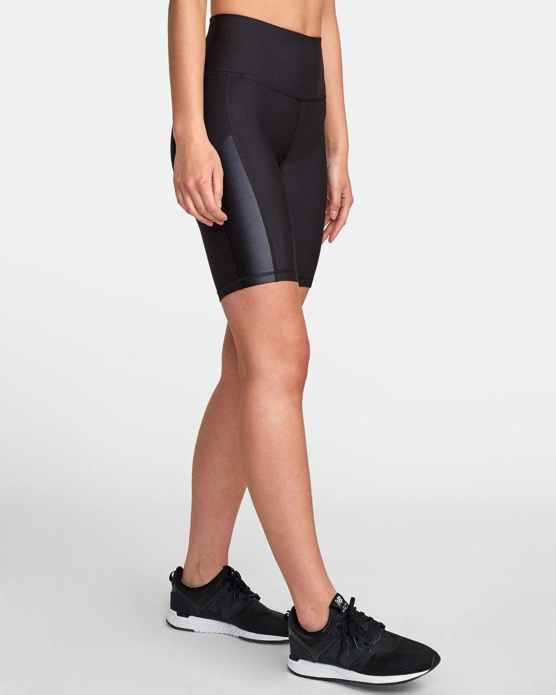 2 VA Di  Ii - Short de sport pour Femme Noir S4WKWARVP0 RVCA