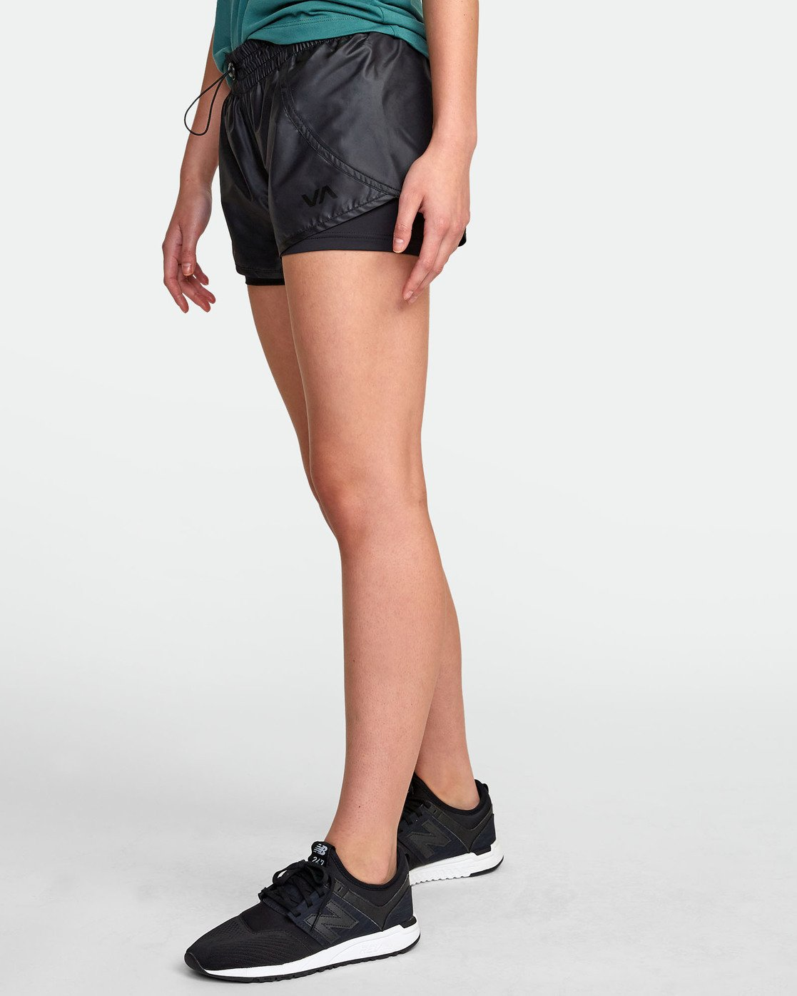 1 2 In 1  - Short de sport pour Femme Noir S4WKWBRVP0 RVCA