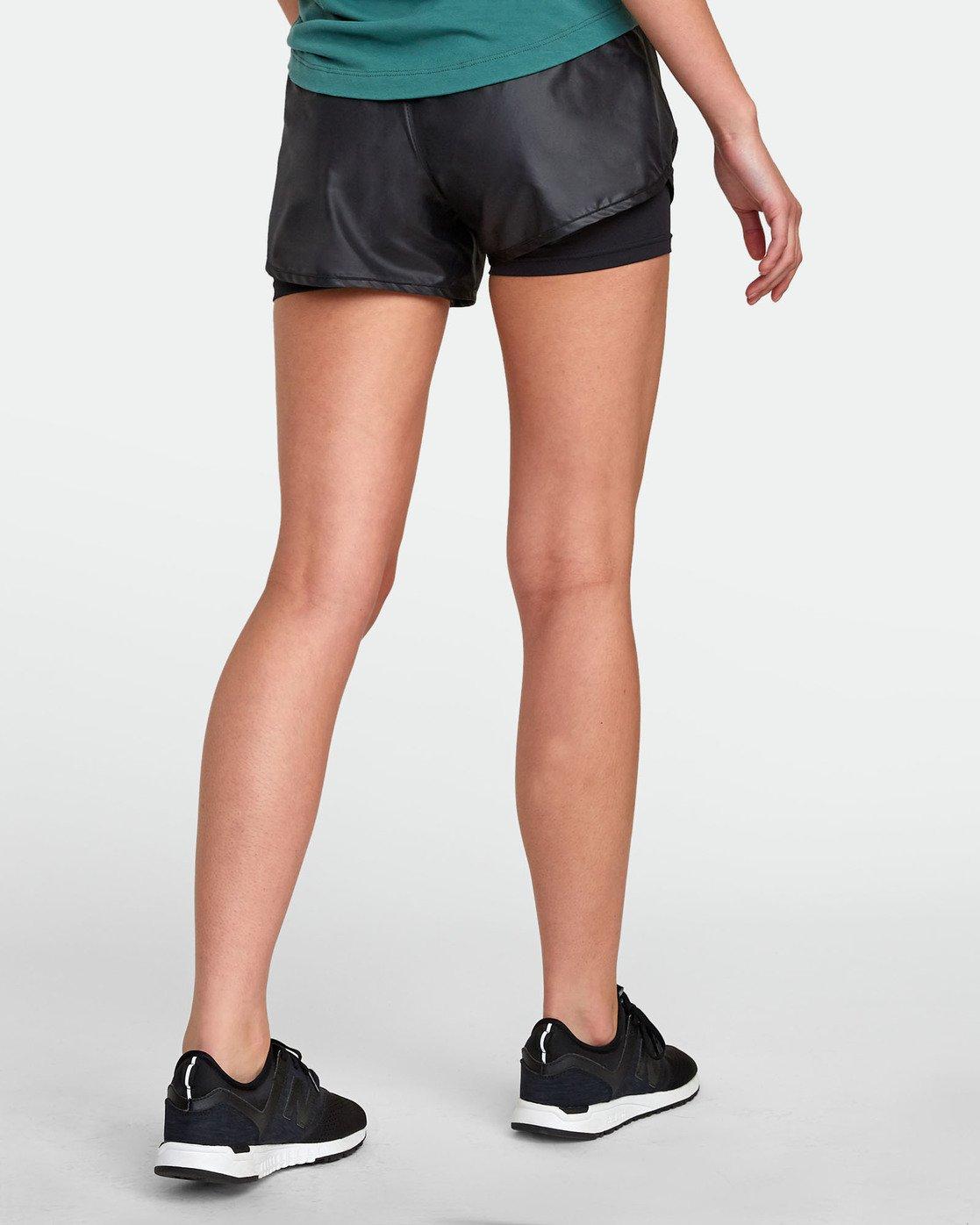 5 2 In 1  - Short de sport pour Femme Noir S4WKWBRVP0 RVCA