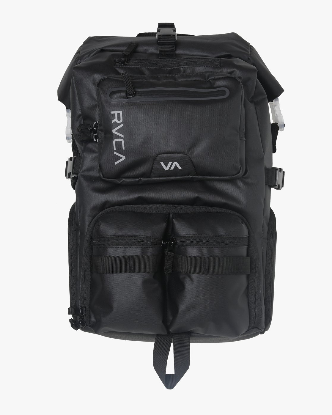 0 Zak N. - Roll Top Camera Backpack for Men Black S5BPRARVP0 RVCA