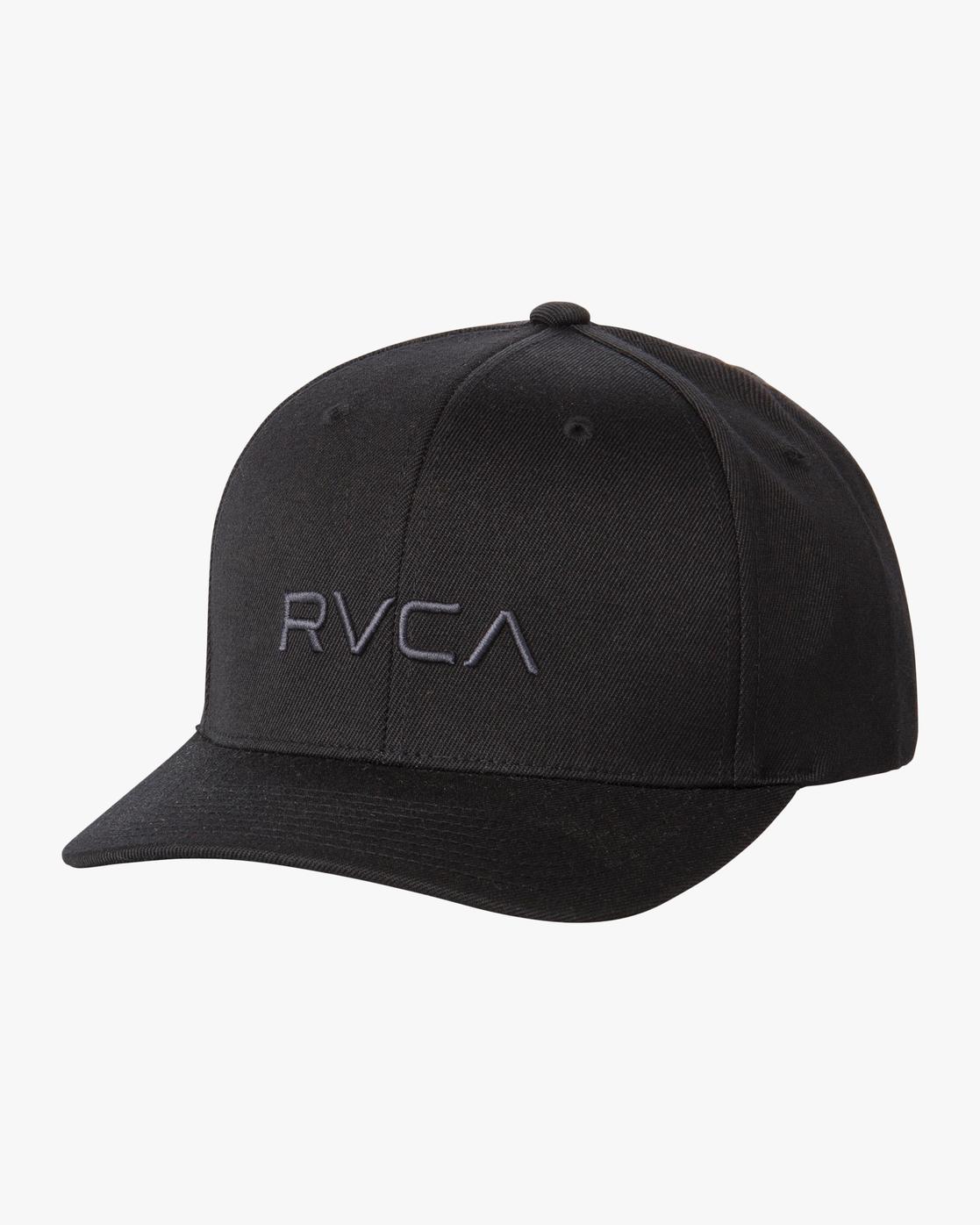 0 RVCA Flex Fit - Flexfit Hat for Men Black S5CPRSRVP0 RVCA