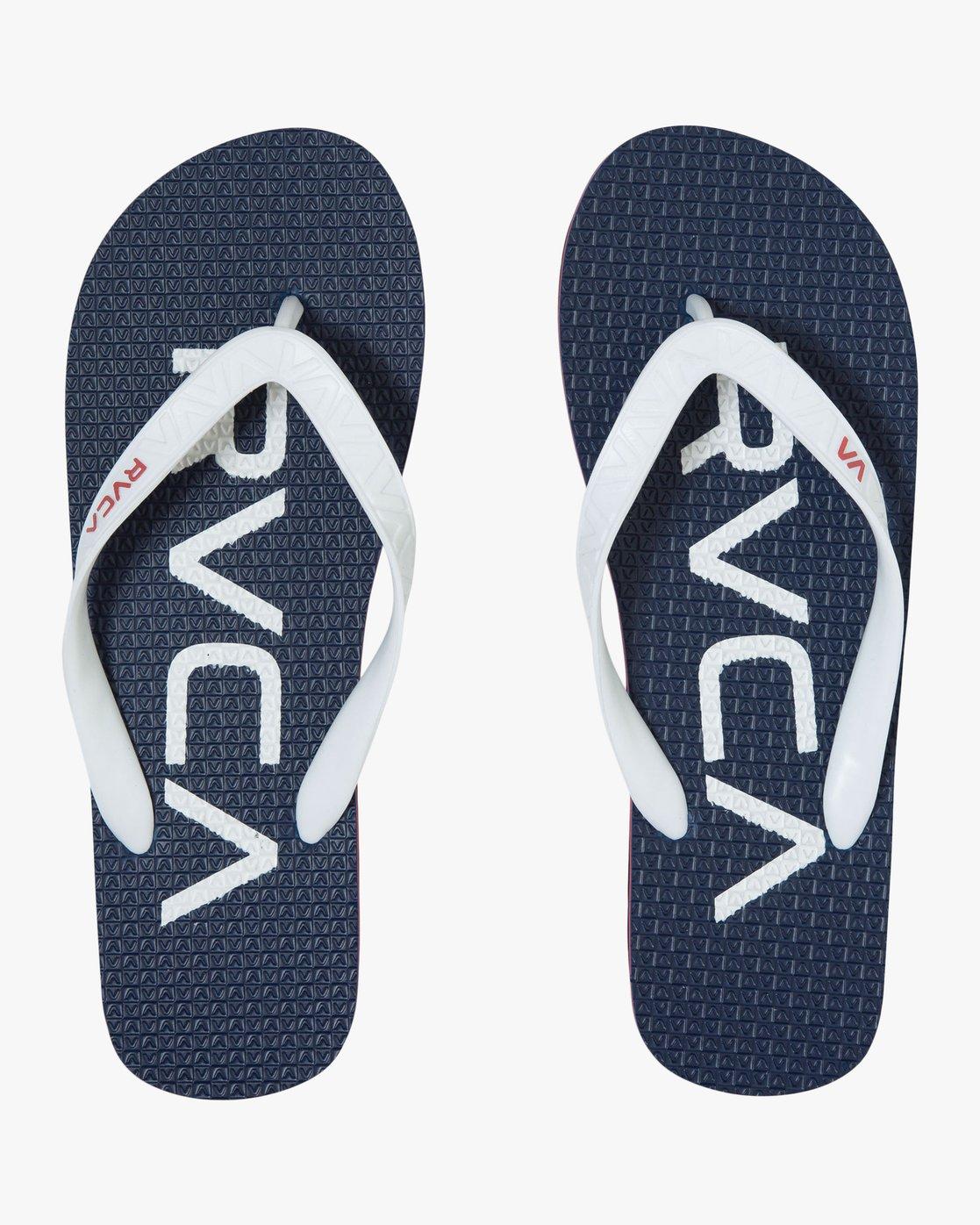 0 Trench Twn - Flip-Flops for Men Blue S5FFRBRVP0 RVCA