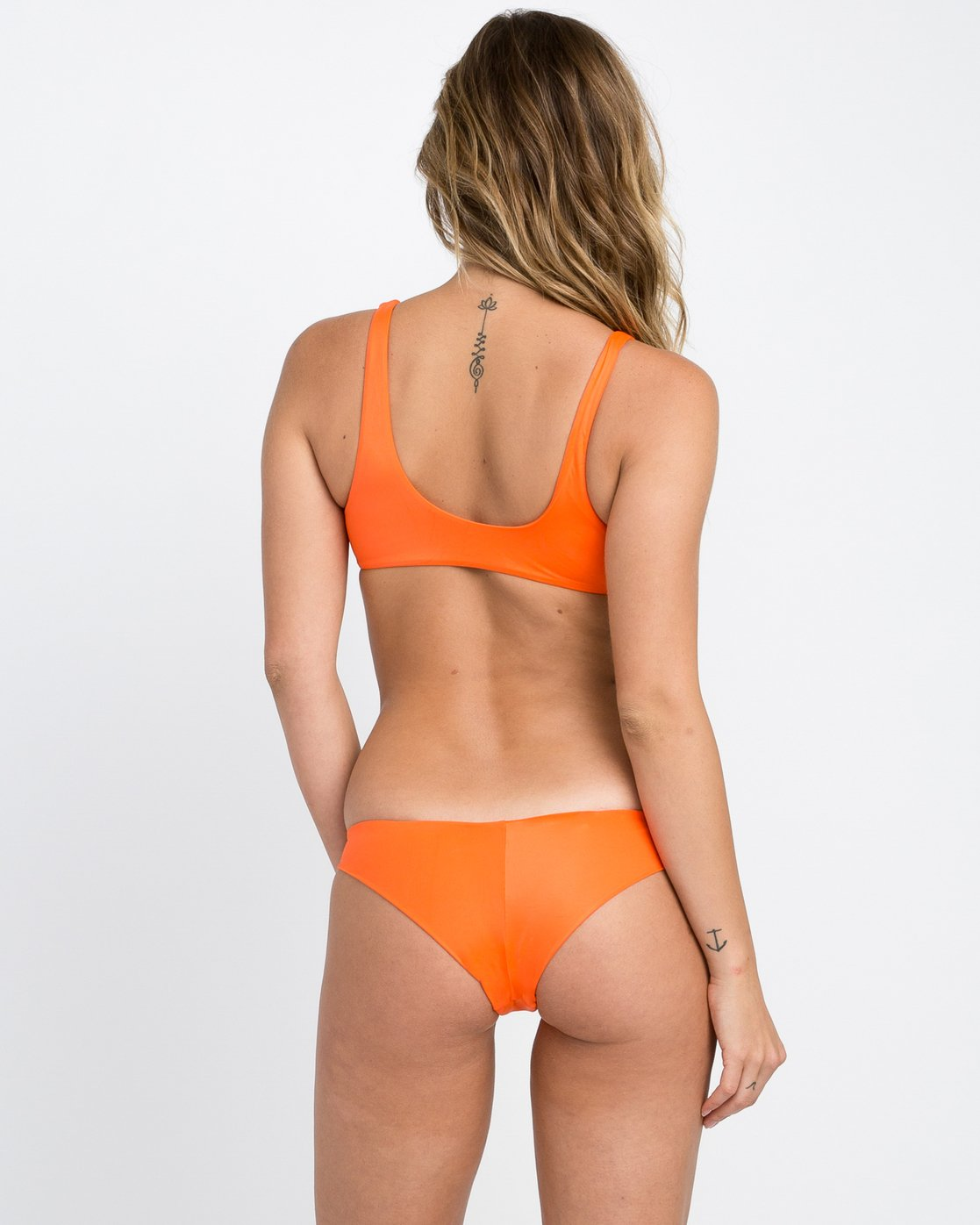 0 Solid Cheeky Bikini Bottoms Red SJXB01SC RVCA